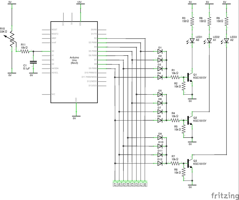 エンコーダー回路図